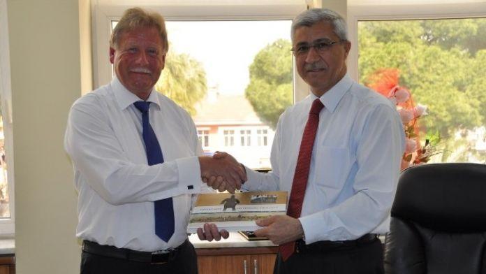 Alman Belediye Başkan Yardımcısından Kula'ya Ziyaret