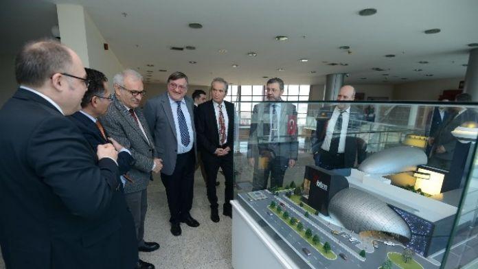 Almanlardan 'Gökmen Uzay Havacılık Eğitim Merkezi'ne Tam Not
