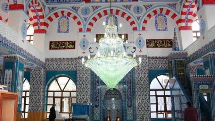 Tarihi Durdu Bey Cami Yenilendi
