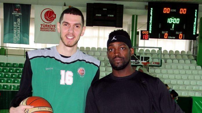 Yeşilgiresun Belediyesporlu basketbolcu Perkins:
