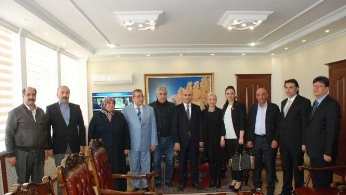 Himyaç-der'den Vali Demirtaş'a Ziyaret