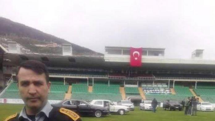 Bursaspor'un Eski Stadı Dizi Seti Oldu