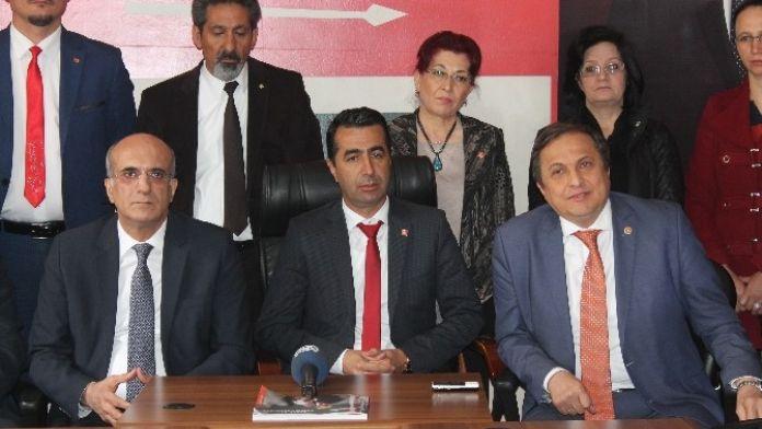 CHP Genel Başkan Yardımcıları Niğde'de