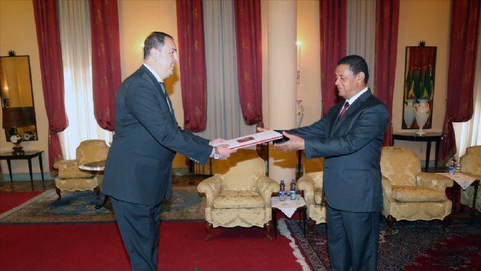 Büyükelçi Ulusoy'un güven mektubu