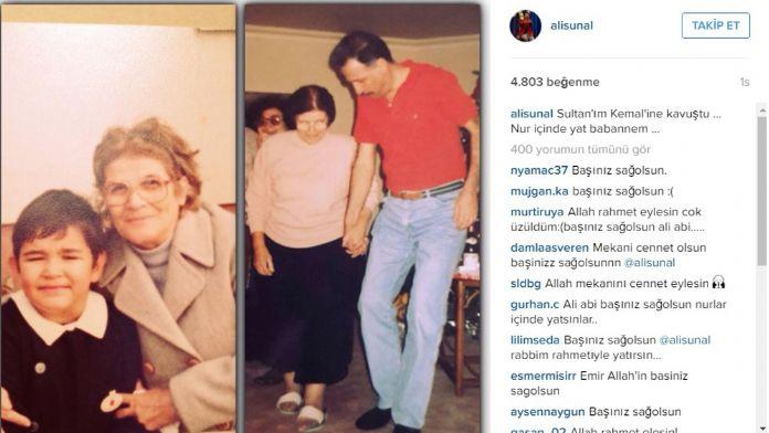 Kemal Sunal'ın annesi hayatını kaybetti