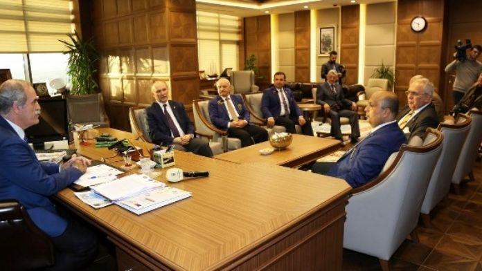 Rotary Büyükşehir İle Ortak Projeler Yapacak