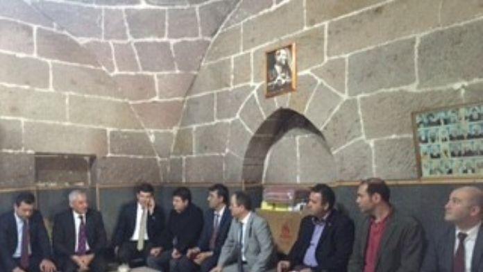Oran'dan İncesu Kaymakamı Ve Belediye Başkanına Ziyaret