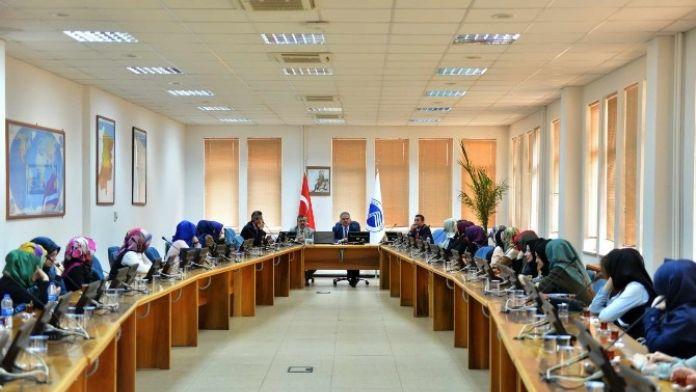 Adapazarı Anadolu İmam Hatip Lisesi'nden Rektör Elmas'a Ziyaret