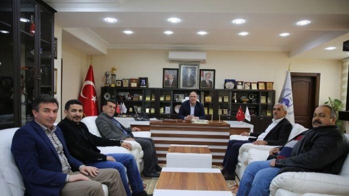 Erzurumlular Derneğinden Adapazarı Belediyesine Ziyaret