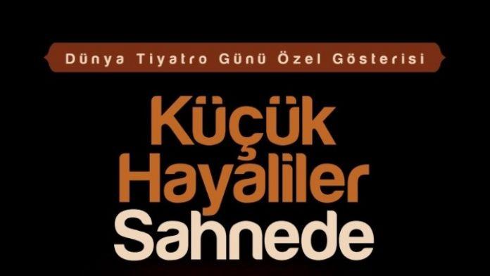 Büyükşehir Belediyesi Tiyatro Günü'nü Kutlayacak