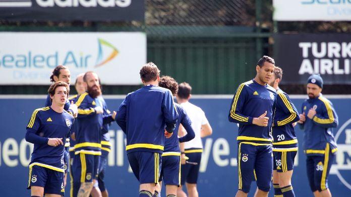 Fenerbahçe Osmanlıspor maçının hazırlıklarını sürdürüyor