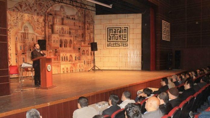 Mardin'de Bediüzzaman Konferansı