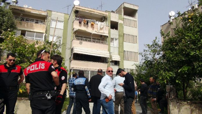 Dairede patlama: 1 ölü, 1 yaralı
