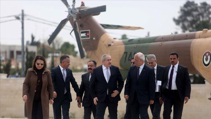 Ürdün Dışişleri Bakanı Cudeh Ramallah'ta