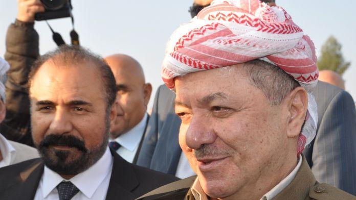 Barzani'den Erdoğan'a övgü