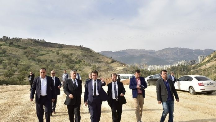 Başkan Erkoç'tan Gezi Ve İnceleme