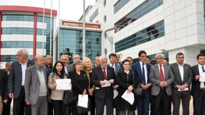 Adıyaman'da CHP'lilerden suç duyurusu