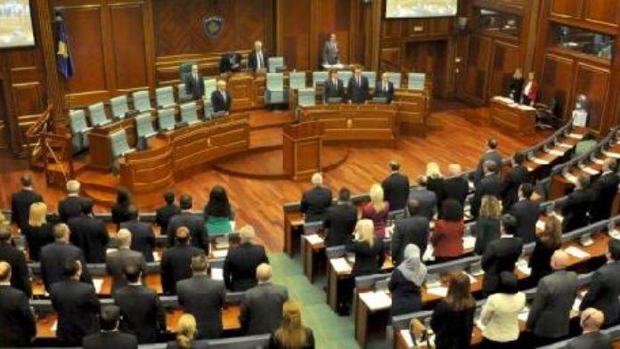Kosova Meclisi Brüksel İçin Saygı Duruşunda