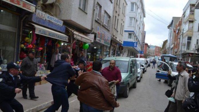 'Canlı bomba' saldırısını planlayan teröristin Keşan'da amcasına ait işyeri saldrırıya uğradı - ek fotoğraf