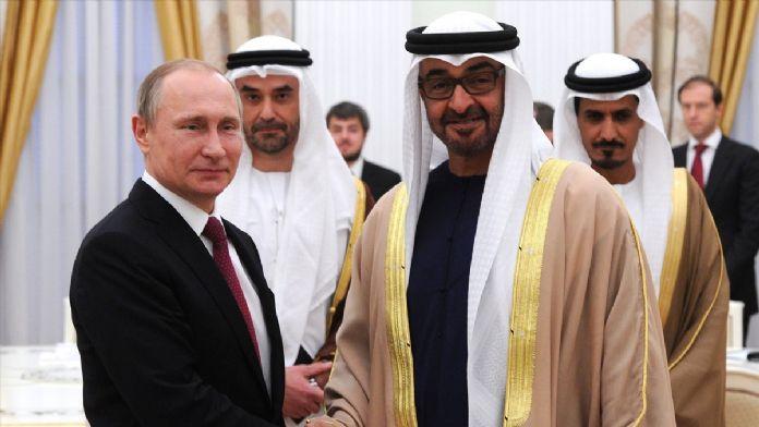Abu Dabi Veliaht Prensi Al Nahyan Moskova'da