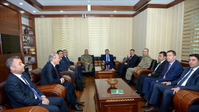 İçişleri Bakanlığı Müsteşarı Altınok Diyarbakır'da