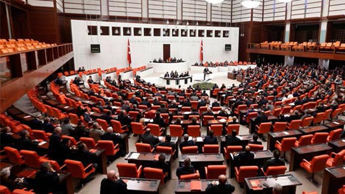 Meclisteki 'terör' konulu toplantı
