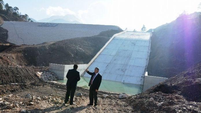 DSİ'nin Karadere Barajı Çalışmaları