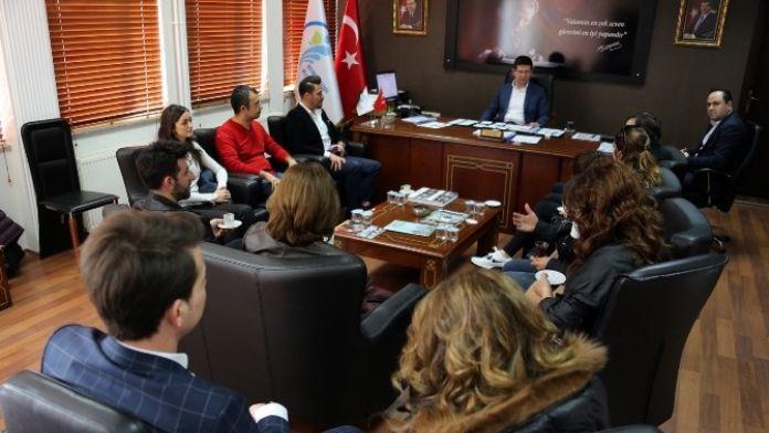 Dünyaca Ünlü Grup, Başkan Subaşıoğlu'nu Ziyaret Etti
