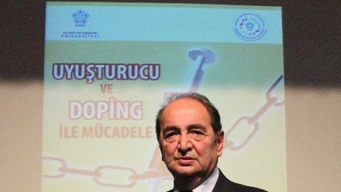 Konya'da 'Uyuşturucu Ve Doping İle Mücadele' Konulu Konferans
