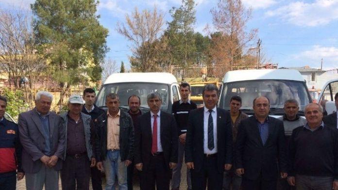 Şambayat Belediyesine İki Araç Hibe Edildi