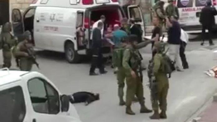 İsrailli asker Filistinli genci infaz etti!