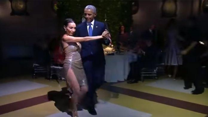 Obama'ya 'tango' tepkisi