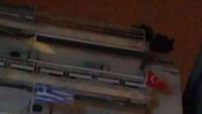 Yunanistan'da Türk bayrağı tepkisi