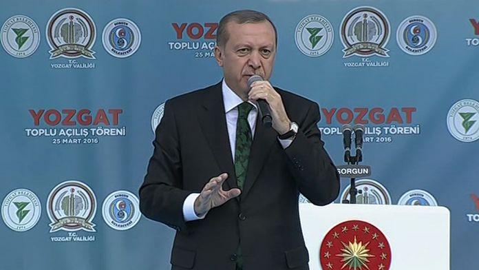 Erdoğan: Sonuna kadar bu mücadeleyi sürdüreceğiz