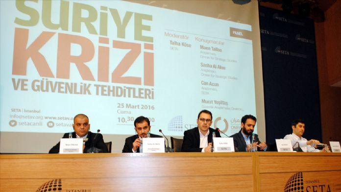 'Suriye Krizi ve Güvenlik Tehditleri' paneli