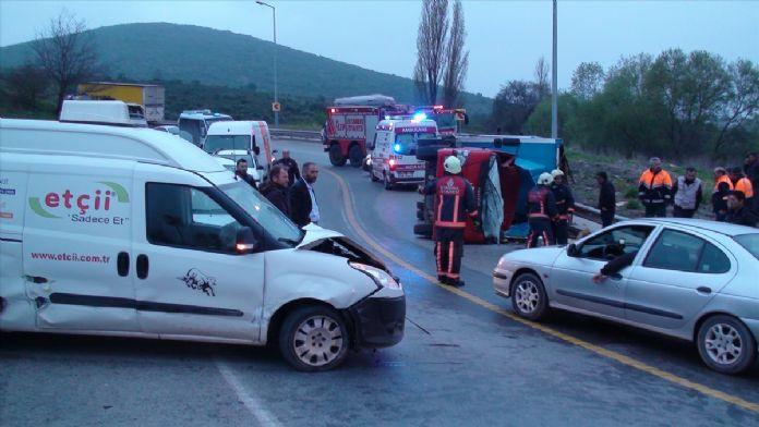 Sancaktepe'de zincirleme trafik kazası: 5 yaralı
