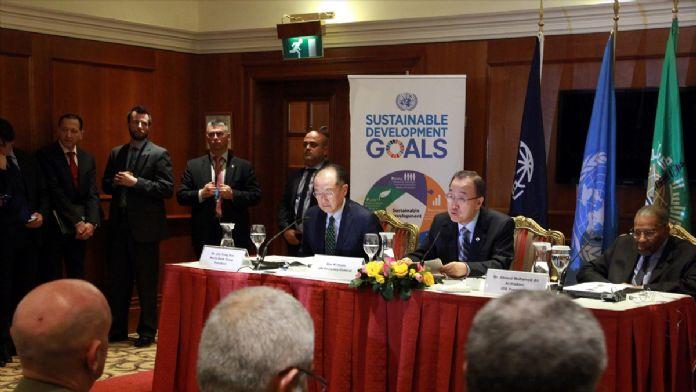 BM Genel Sekreteri Ban, Lübnan'da