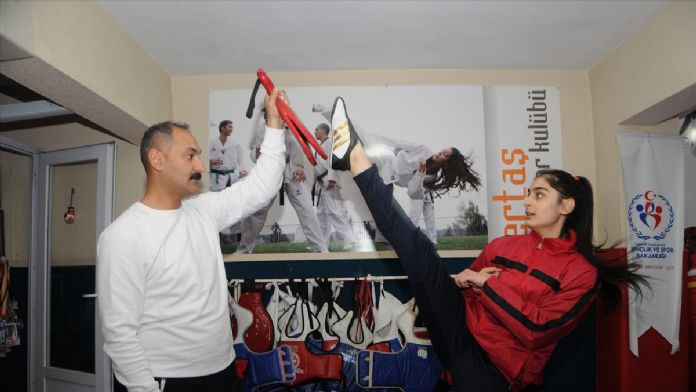 Sur'un terör mağduru sporcusu, Avrupa 2'ncisi oldu