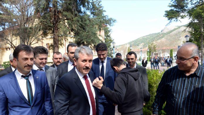 Destici,  Türkiye'yi asla bir Suriye, bir Irak yapamayacaklar.'