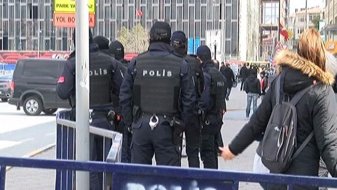 Taksim Meydanı'nda Erdoğan alarmı