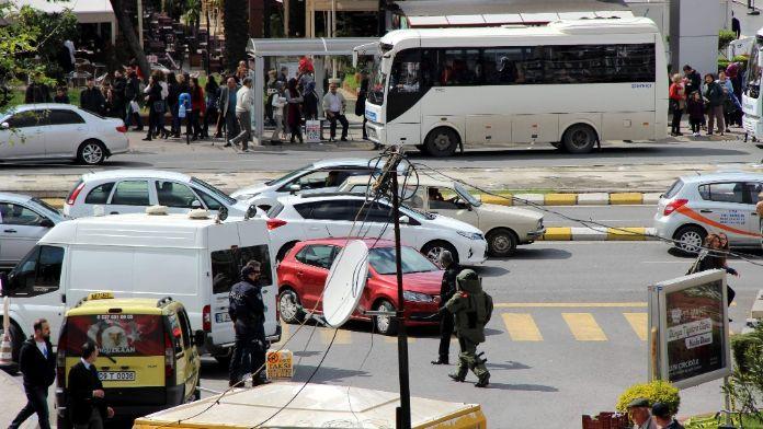 Aydın'da bomba paniği