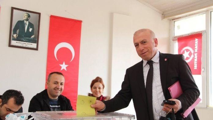 Vatan Partisi Oltu Kurultayı Yapıldı