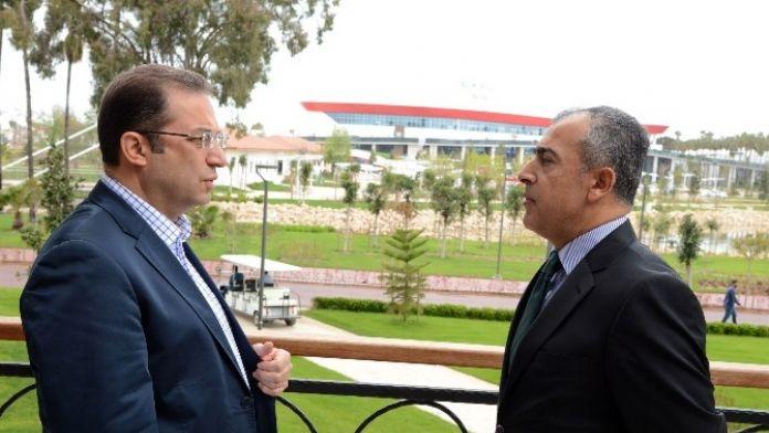 Vali Türker: 'EXPO 2016 Can Suyu Olacak'