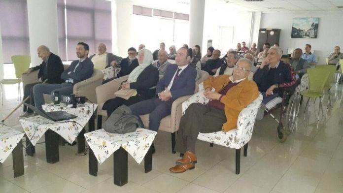 MHP'den Huzurevine Ziyaret