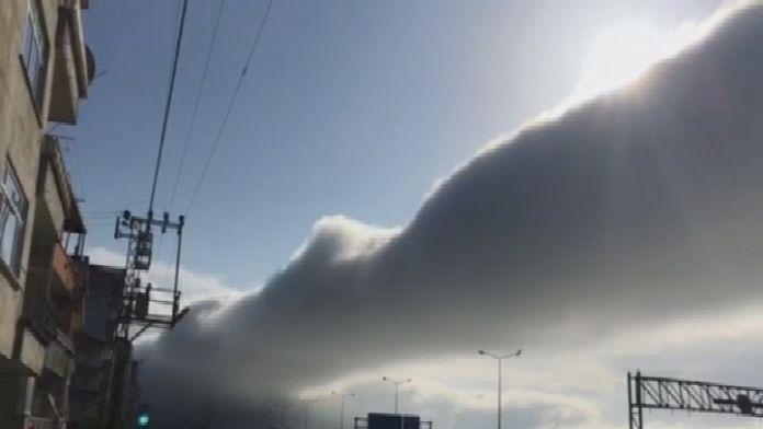 Gökyüzünde İlginç Sis Bulutu
