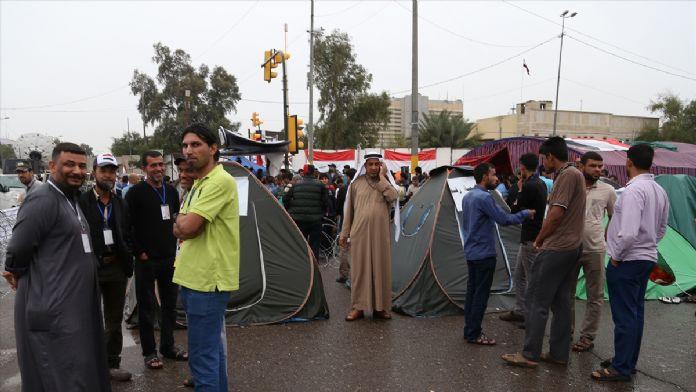 Irak'taki sivil itaatsizlik eylemi