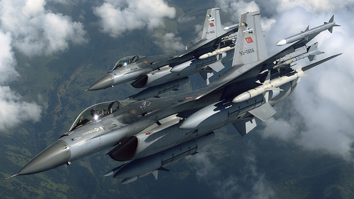 IŞİD hedeflerine hava harekatı düzenlendi