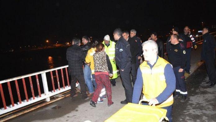 Köprüye Çıkarak İntihara Kalkıştı