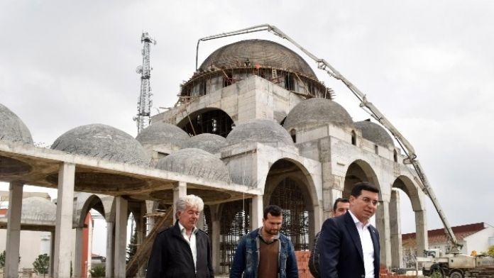 Tütüncü, Çelebi Sultan Mehmed Camii'sini İnceledi
