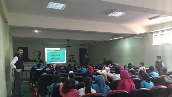 Dilovası'nda Öğrenciler Sinevizyonla Çevre Bilinci Öğreniyor